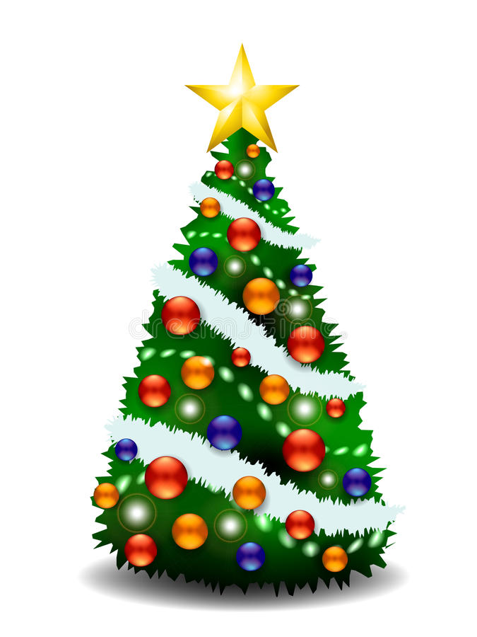 Download Christmas Tree stock vector. Image of green, holiday - 28179664
