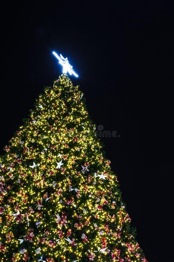 Download Christmas tree stock image. Image of night, merry, christmas - 28306535