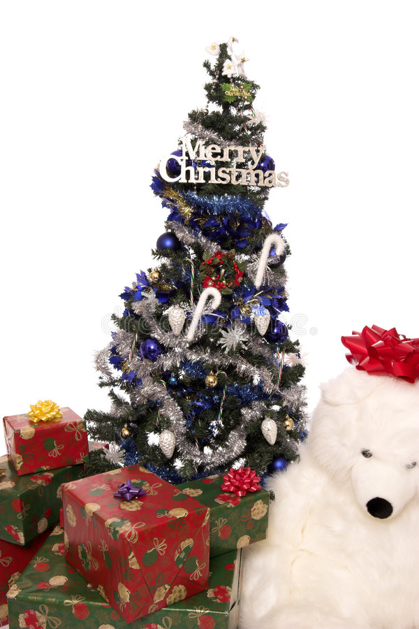 Christmas tree 3 royalty free stock photos