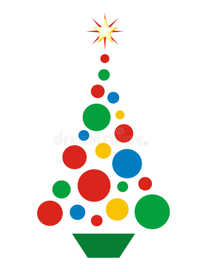 Download Christmas Tree stock vector. Illustration of holiday, graphic - 3661522