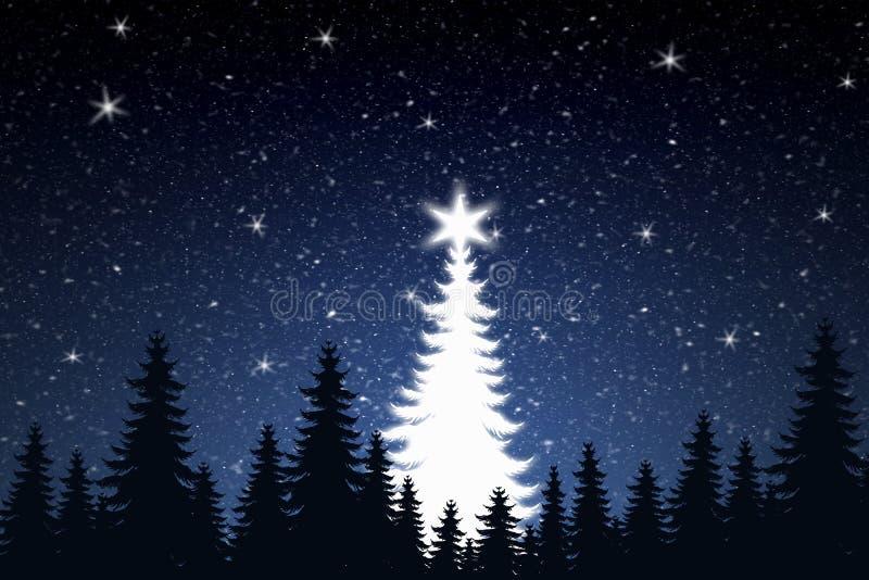 Download Christmas Tree stock illustration. Illustration of scenery - 370407