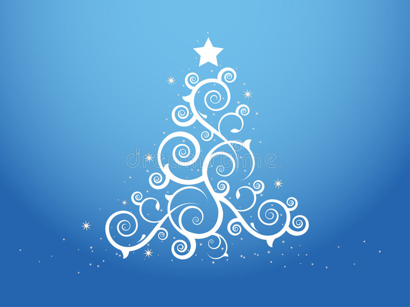 Download Christmas tree stock vector. Illustration of abstract - 3766671
