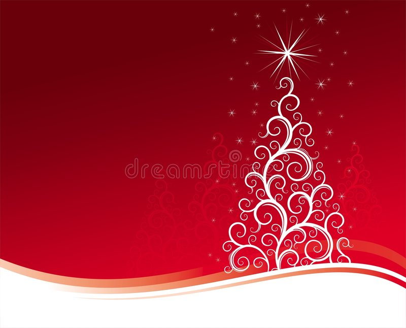 Download Christmas tree stock vector. Illustration of snow, abstract - 3812422