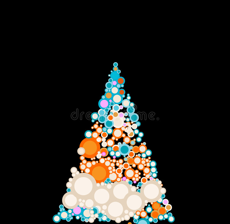 Christmas-tree vector illustration