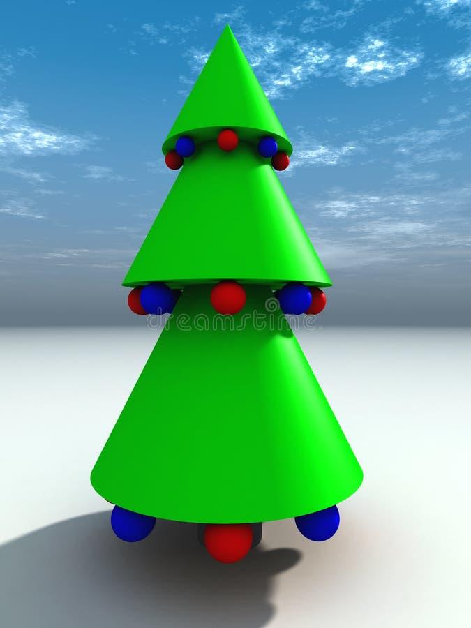 Christmas Tree 5 stock photography