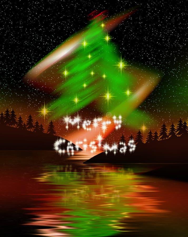 christmas tree απεικόνιση αποθεμάτων