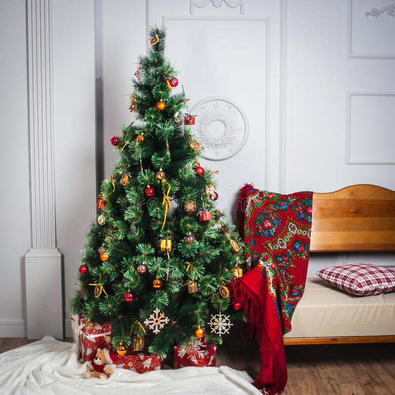Free Christmas Tree Royalty Free Stock Images - 63523729