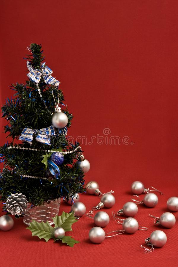 Download Christmas tree stock image. Image of abstract, scarf, happiness - 6364777