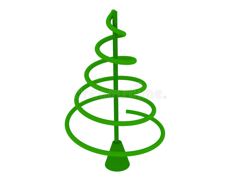 Download Christmas tree stock illustration. Image of dimensional - 7326562
