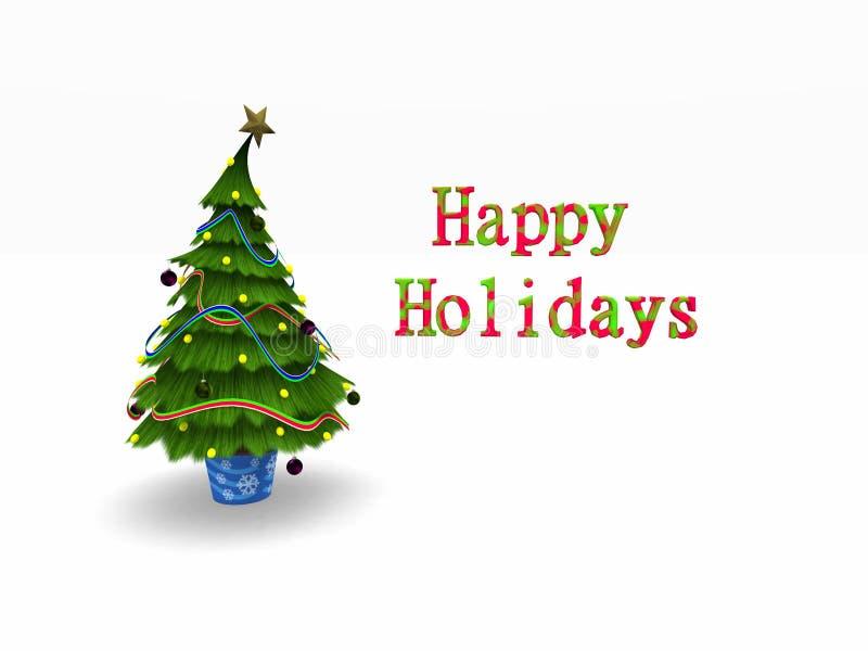 christmas tree ελεύθερη απεικόνιση δικαιώματος
