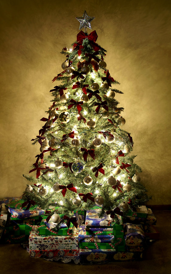 Download Christmas Tree stock image. Image of season, lights, saint - 769071