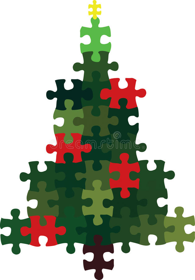 Download Christmas Tree stock vector. Illustration of festival - 9493692