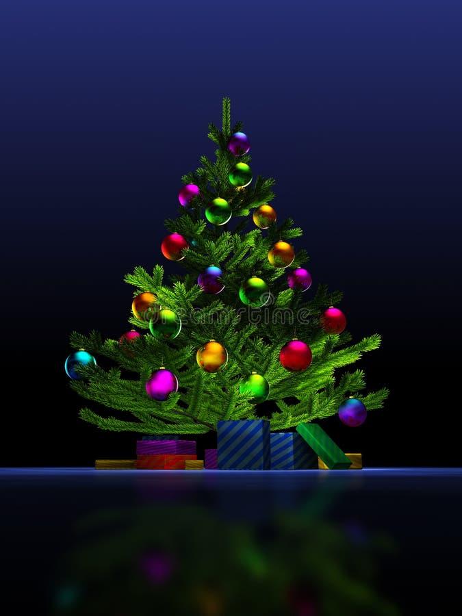 Free Christmas Tree. Royalty Free Stock Photo - 9723355