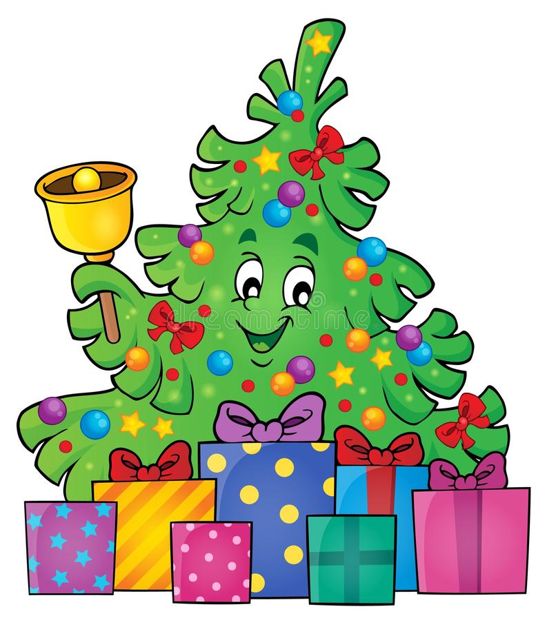 Free Christmas Tree And Gifts Theme Image 3 Royalty Free Stock Photos - 60430568