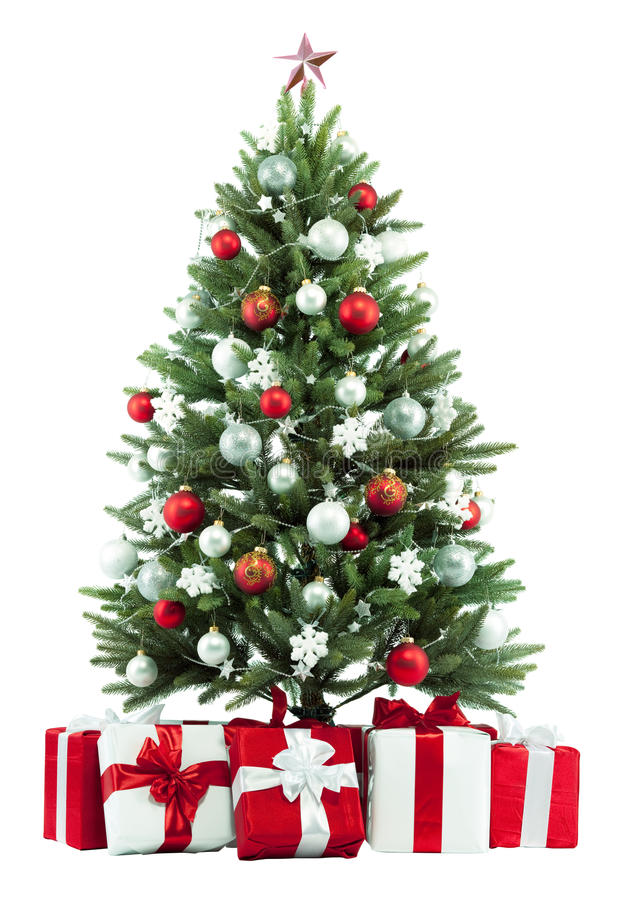 Free Christmas Tree And Presents Royalty Free Stock Images - 13009349