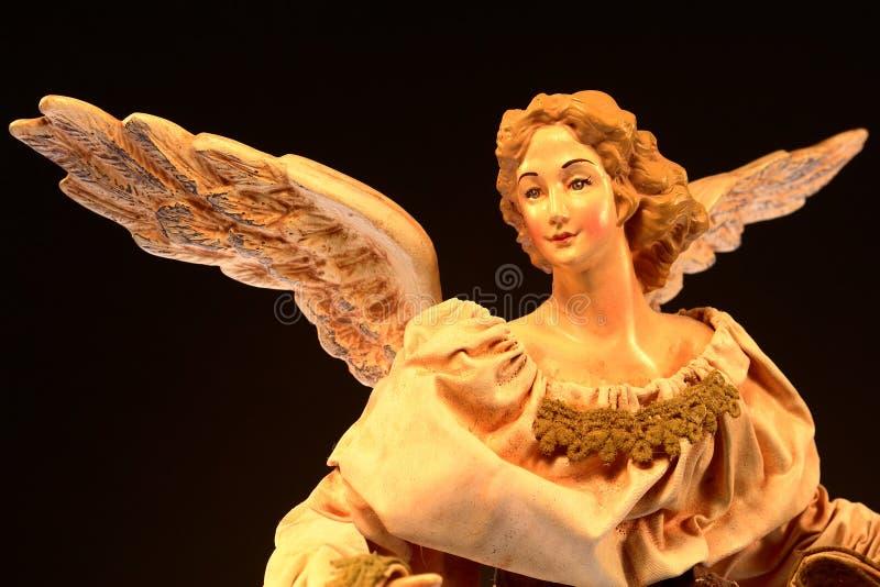 Christmas Tree Angel stock photography