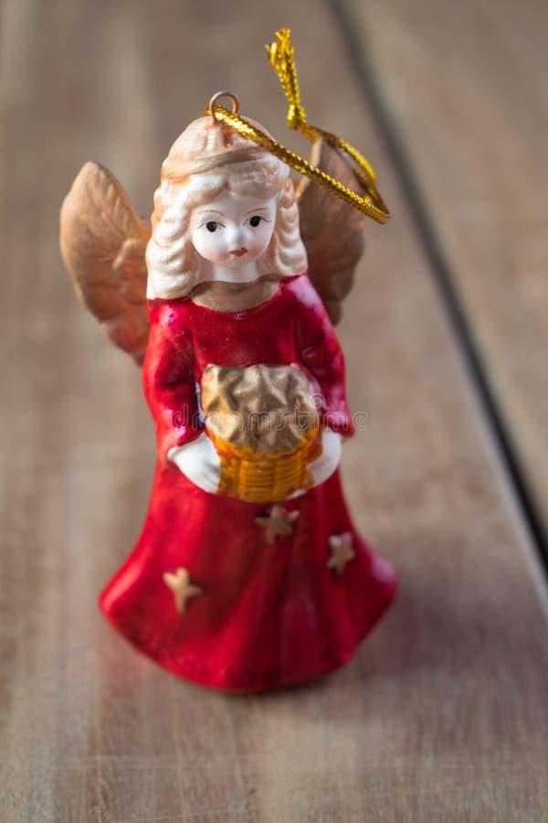 Free Christmas Tree Angel Decoration Figure Stock Photo - 106165870