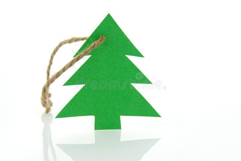 Download Christmas Tree As Marker Tag Stock Photo - Image of season, sign: 27568788