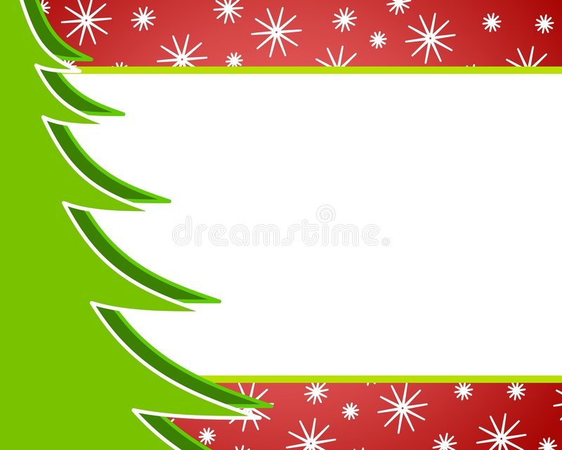 Christmas Tree Background 2 stock images