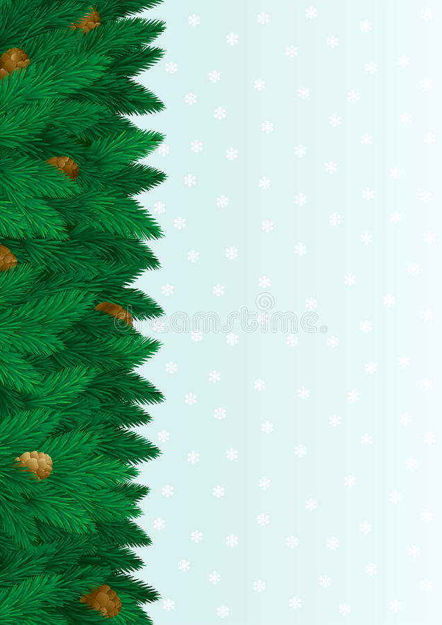 Download Christmas tree background stock vector. Illustration of background - 27347306