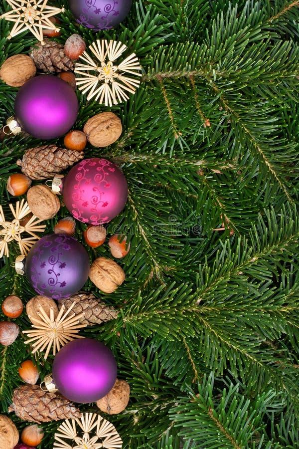 Download Christmas tree balls stock image. Image of ball, hazelnut - 27607615
