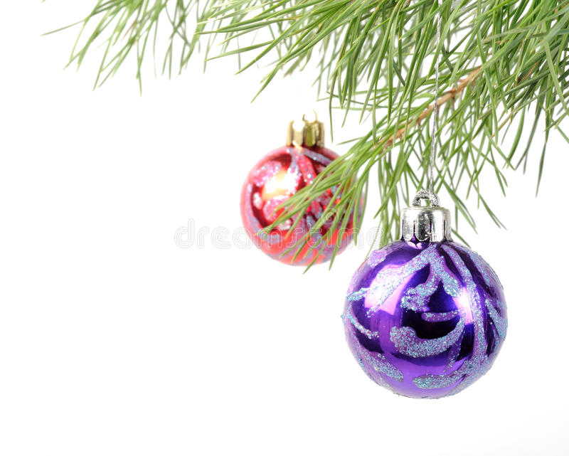 Download Christmas tree baubles stock image. Image of ball, hanging - 22276733