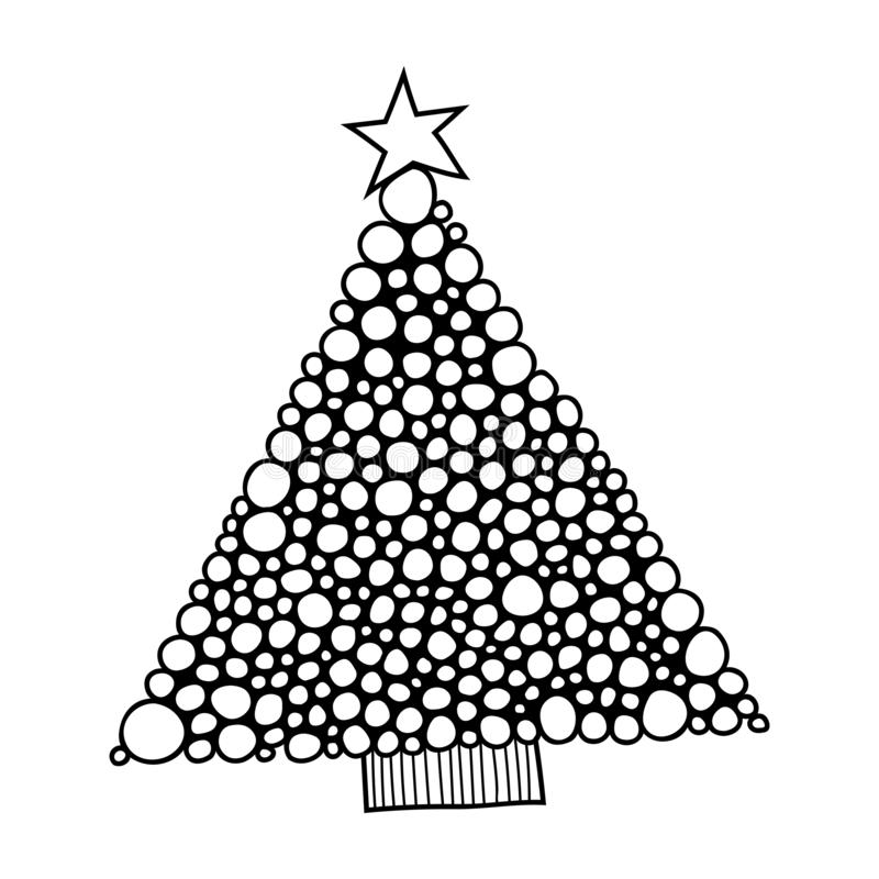 Christmas Tree Clipart Black White Stock Illustrations 991 Christmas Tree Clipart Black White Stock Illustrations Vectors Clipart Dreamstime