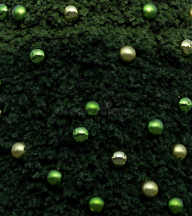 Christmas tree on blue sky royalty free stock images