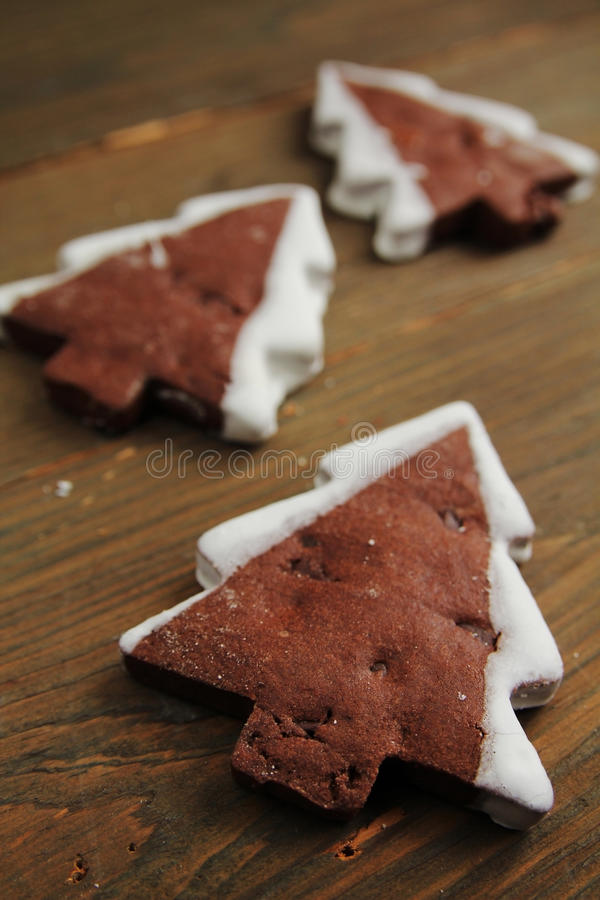 Download Christmas tree cookies stock photo. Image of ginger, gingerbread - 22392690