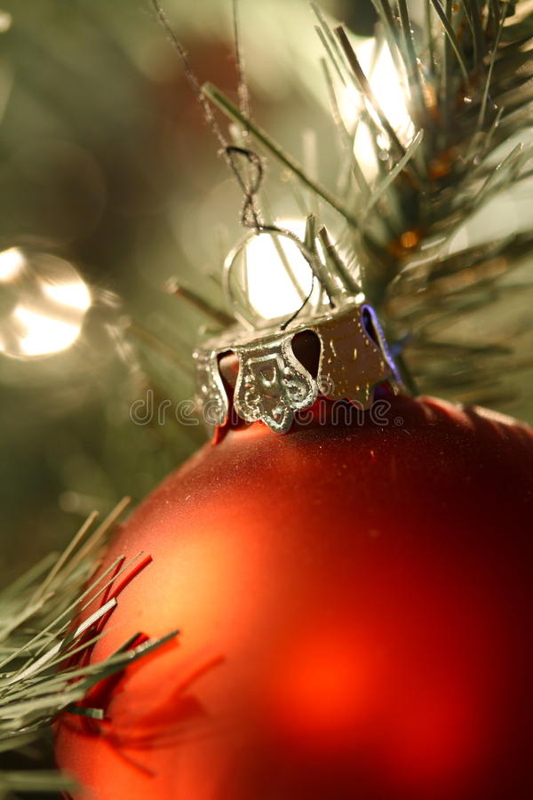 Christmas Tree Decoration Stock Image