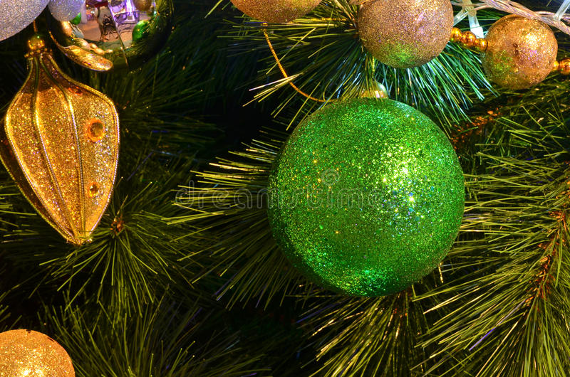 Download Christmas Tree With Decoration Stock Photo - Image: 28688466