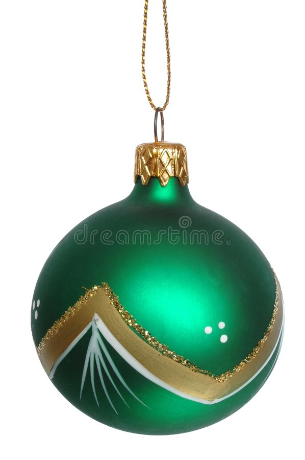 Christmas tree decoration stock photos