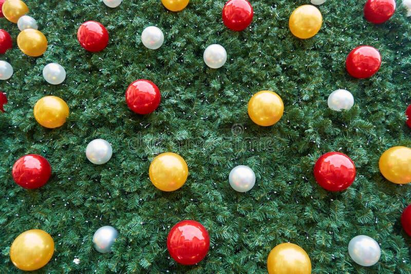 Christmas tree decoration details at Sibiu Christmas Market. Close u. P stock photography