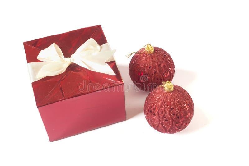Christmas tree decoration isolated on white background royalty free stock photos