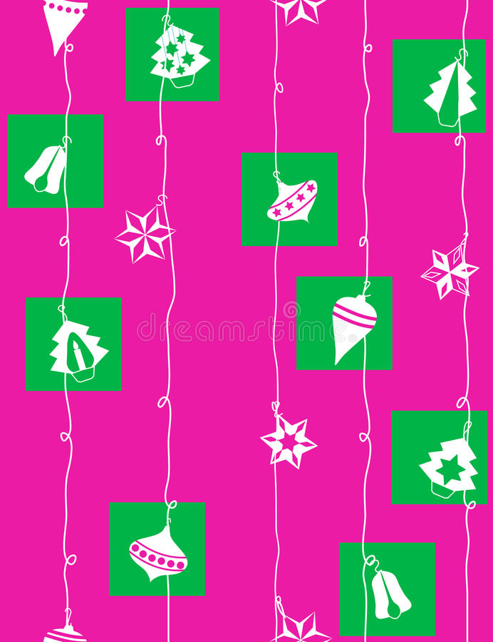 Download Christmas-tree Decoration - Seamless Pattern Stock Vector - Image: 10975965