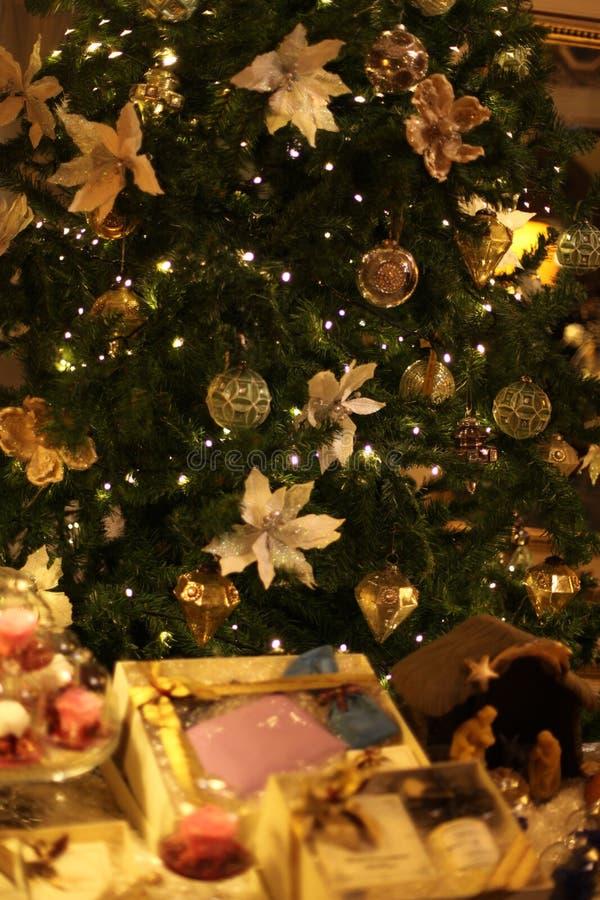 Christmas tree decoration. Still-life christmas tree decoration stock image