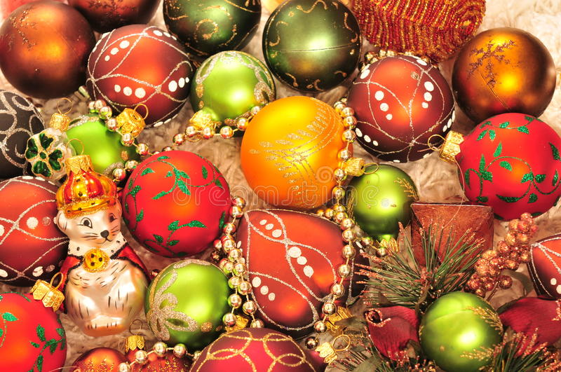 Download Christmas-tree decorations stock image. Image of greeting - 13170519