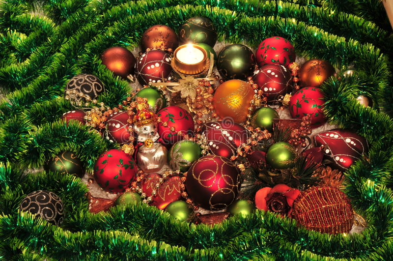 Download Christmas-tree decorations stock image. Image of december - 13170529