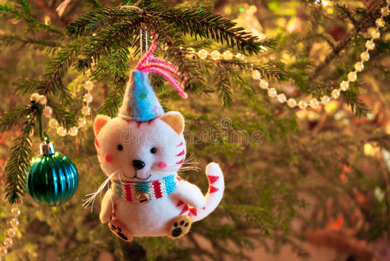 Download Christmas tree decorations stock photo. Image of glow - 26914182