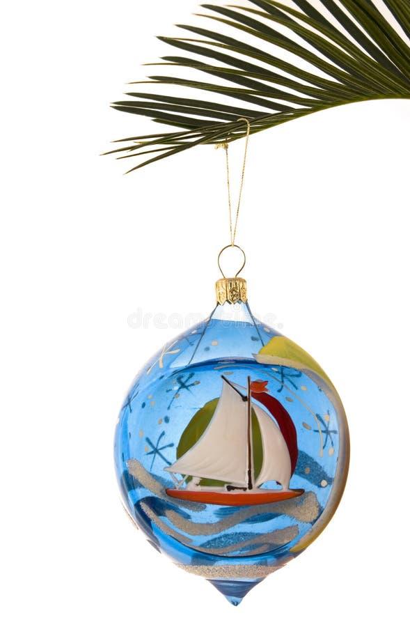 Christmas tree decorations. Christmas tree decoration on white background royalty free stock photos