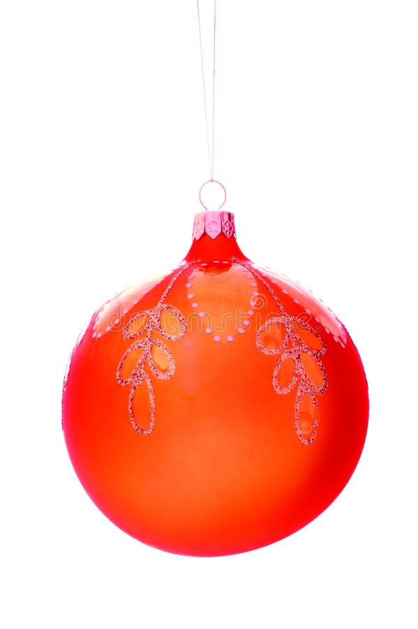 Christmas-tree decorations ball royalty free stock photography