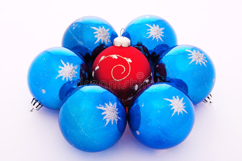 Download Christmas-tree Decorations Balls Stock Images - Image: 1319904
