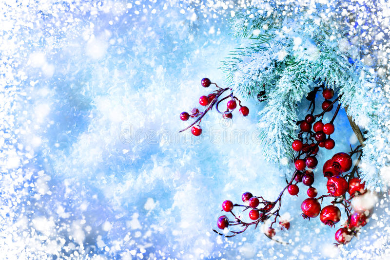 Christmas Tree and Decorations stock images