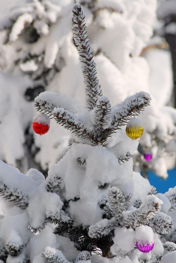 Christmas-tree decorations. stock image