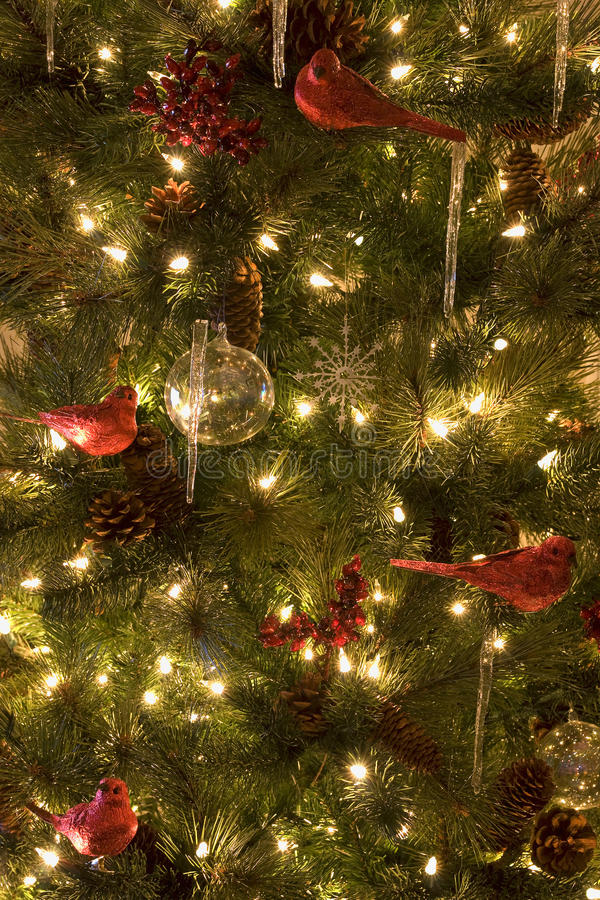 Christmas Tree Decorations Xmas royalty free stock photos