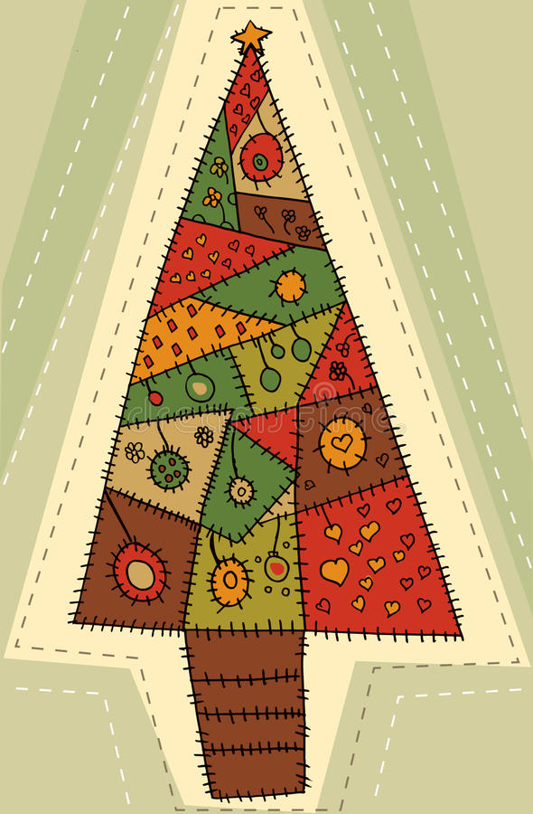 Christmas tree design vector illustration