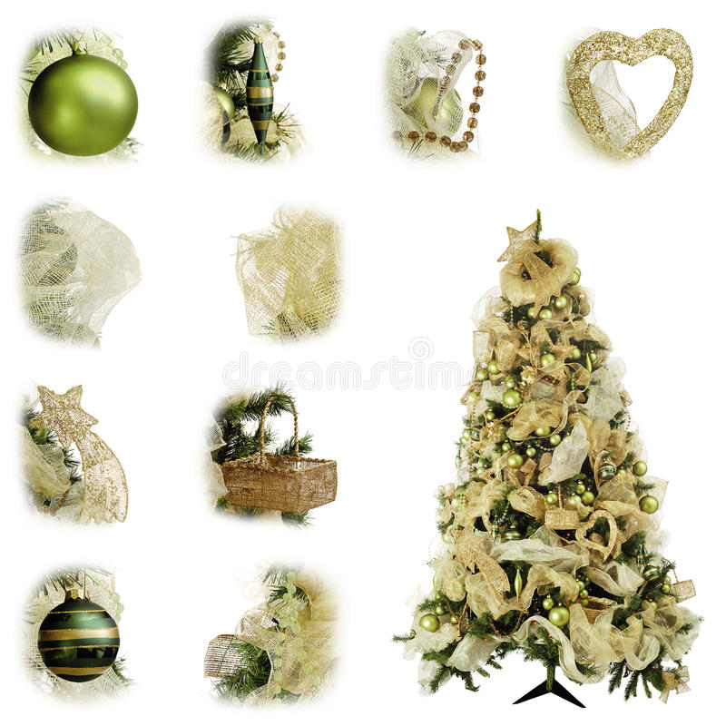 Download Christmas tree green stock photo. Image of decoration - 10730800