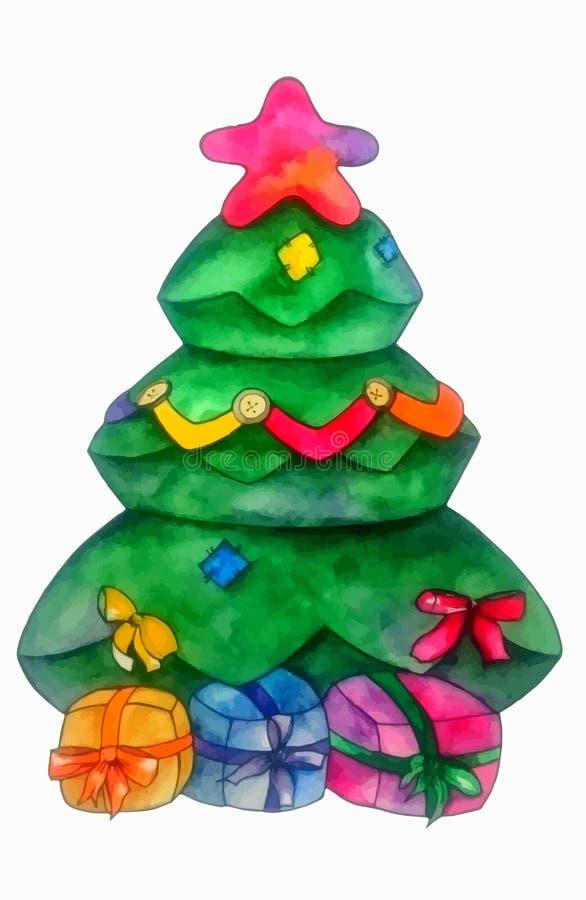 CHristmas Tree. Illustration royalty free illustration