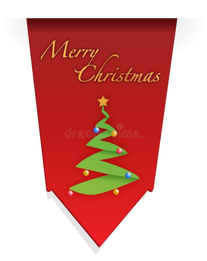 Christmas Tree Illustration Design Royalty Free Stock Photos