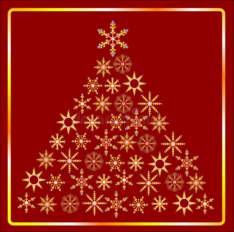 Free CHRISTMAS TREE IN Gold Stock Photo - 6674010